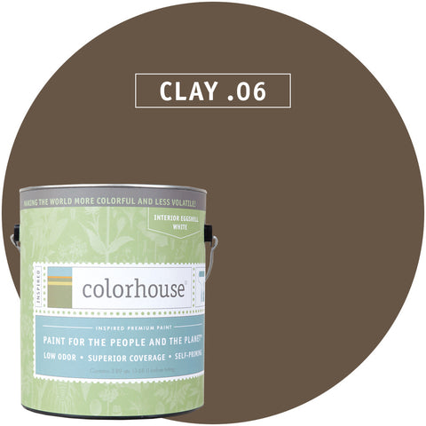 Clay .06 Interior Paint, Paint, Colorhouse, Design Lad Living