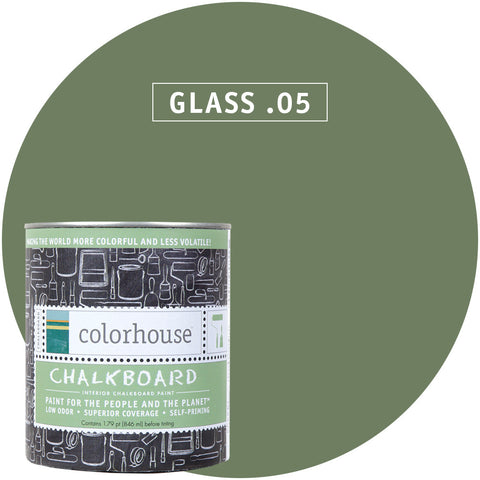 Glass .05 Chalkboard Paint, Paint, Colorhouse, Design Lad Living