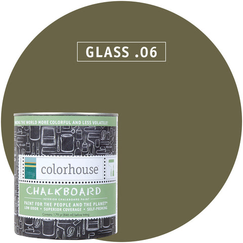 Glass .06 Chalkboard Paint, Paint, Colorhouse, Design Lad Living