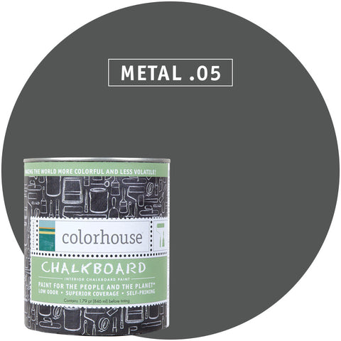 Metal .05 Chalkboard Paint, Paint, Colorhouse, Design Lad Living