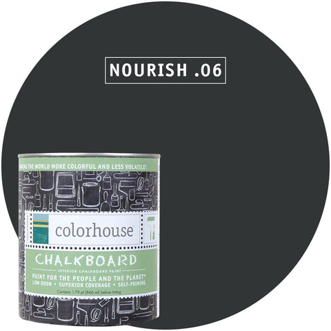 Nourish .06 Chalkboard Paint, Paint, Colorhouse, Design Lad Living