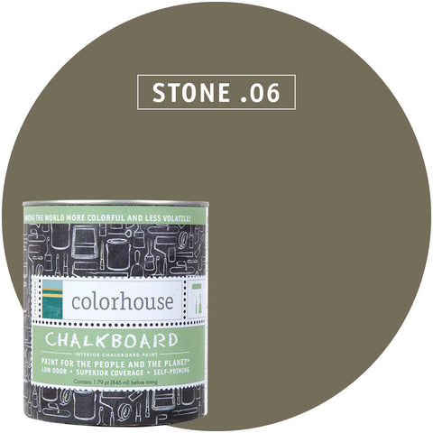Stone .06 Chalkboard Paint, Paint, Colorhouse, Design Lad Living