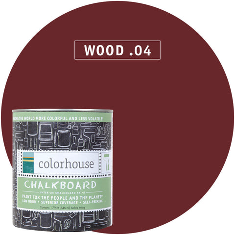 Wood .04 Chalkboard Paint, Paint, Colorhouse, Design Lad Living