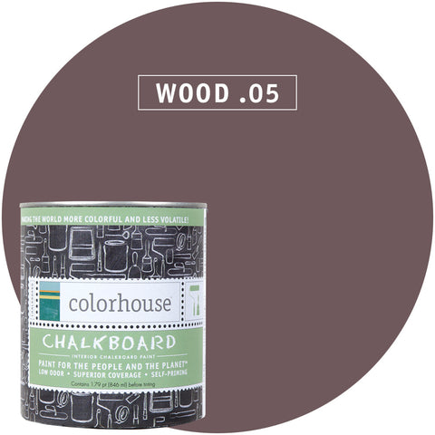 Wood .05 Chalkboard Paint, Paint, Colorhouse, Design Lad Living
