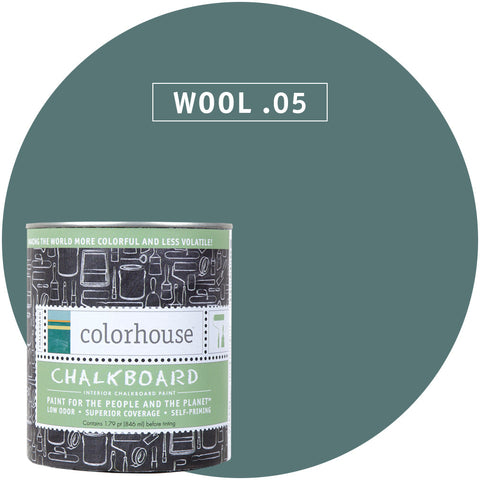 Wool .05 Chalkboard Paint, Paint, Colorhouse, Design Lad Living