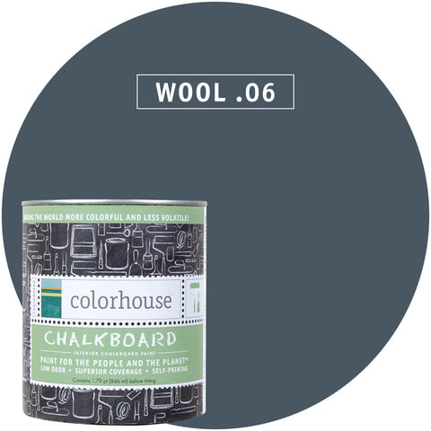 Wool .06 Chalkboard Paint, Paint, Colorhouse, Design Lad Living