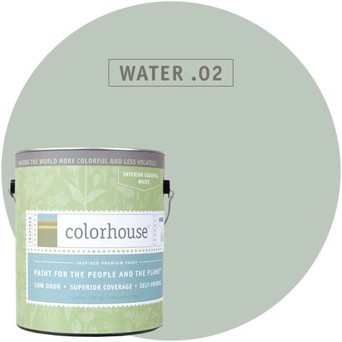 Water .02 Interior Paint, Paint, Colorhouse, Design Lad Living