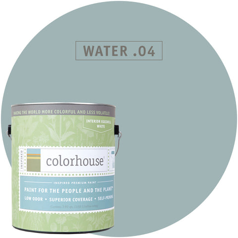Water .04 Interior Paint, Paint, Colorhouse, Design Lad Living