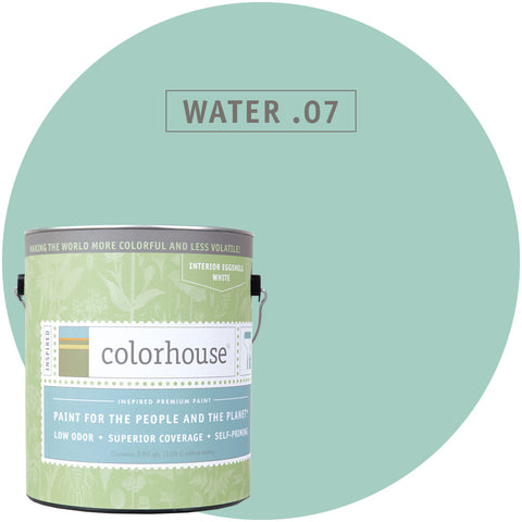Water .07 Interior Paint, Paint, Colorhouse, Design Lad Living