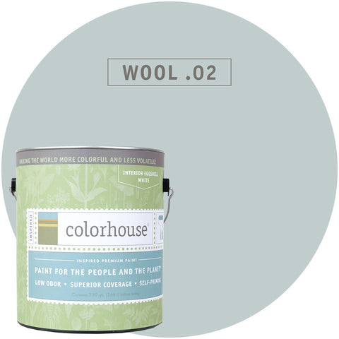 Wool .02 Interior Paint, Paint, Colorhouse, Design Lad Living