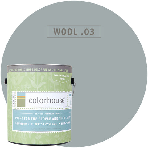 Wool .03 Interior Paint, Paint, Colorhouse, Design Lad Living