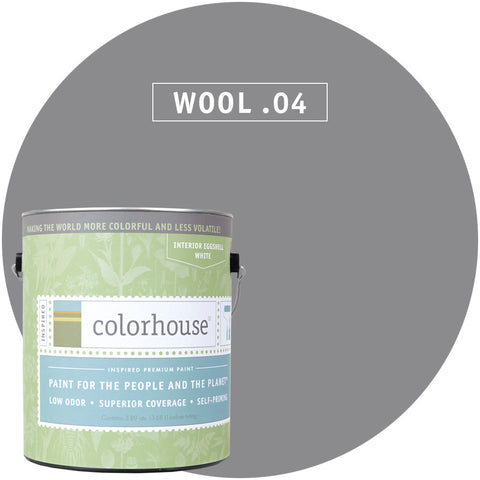 Wool .04 Interior Paint, Paint, Colorhouse, Design Lad Living