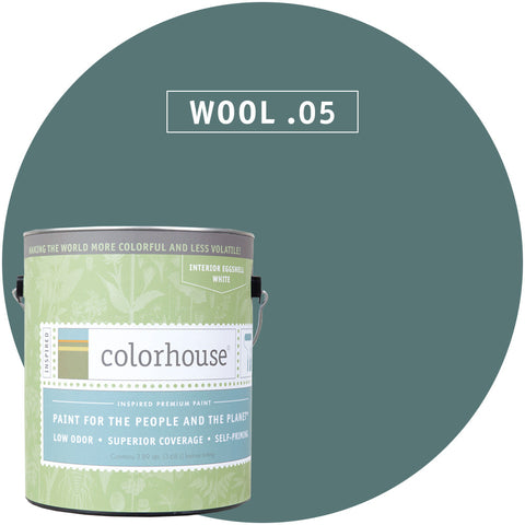 Wool .05 Interior Paint, Paint, Colorhouse, Design Lad Living