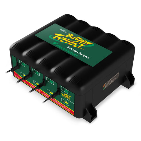 4-Bank 12V Battery Charger