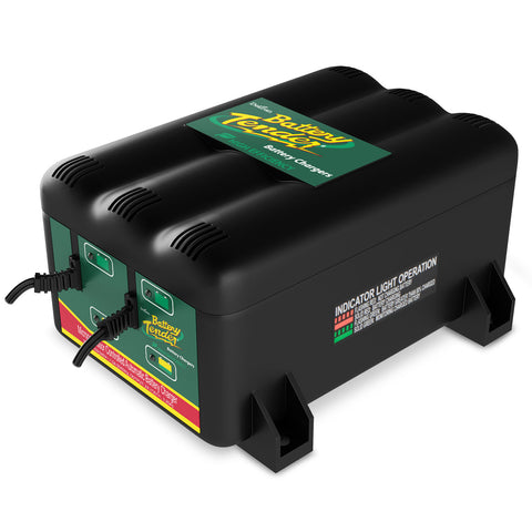 2-Bank 12V Battery Charger