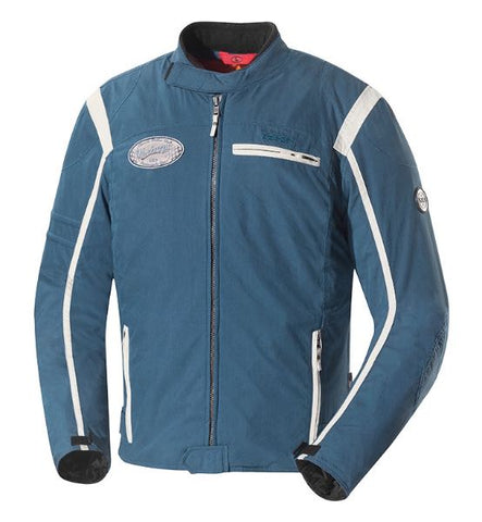 JACKET RIDLEY BLUE-IVORY