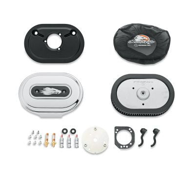 KIT STAGE 1 AIR CLEANER CHROME