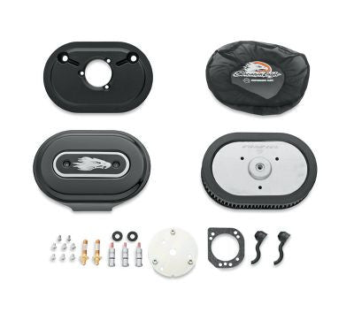 KIT STAGE 1 AIR CLEANER BLACK