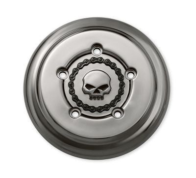 SKULL & CHAIN A/C TRIM SMOKEY CHROME