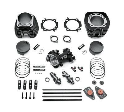 SE PRO BOLT-ON CVO 117CI STRT KIT- BLACK