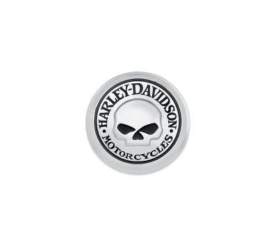 GAS CAP MEDALLION SKULL XL SMALL