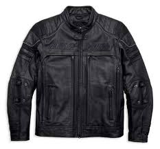 Harley-Davidson® Men's Erving Pocket System Leather Jacket