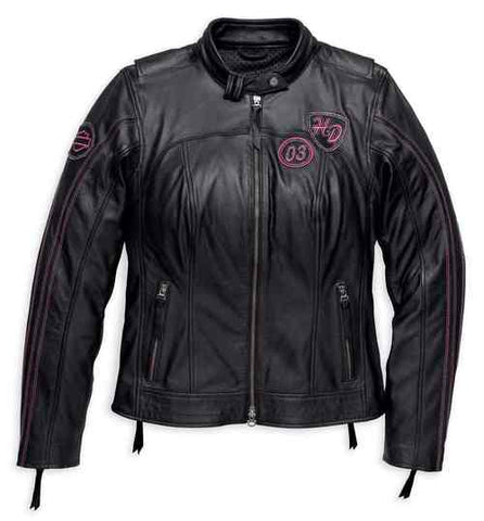 Harley-Davidson® Women's Pink Label Limited Edition Leather Jacket