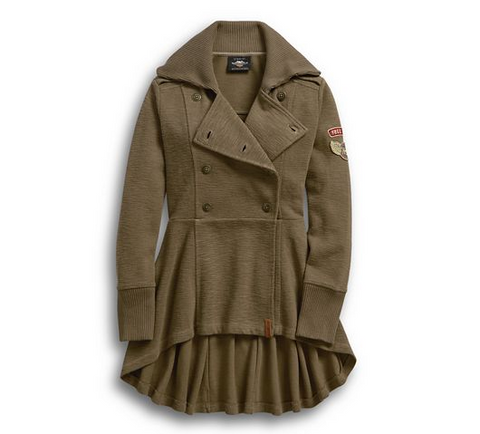 Women's Winged H-D Peacoat
