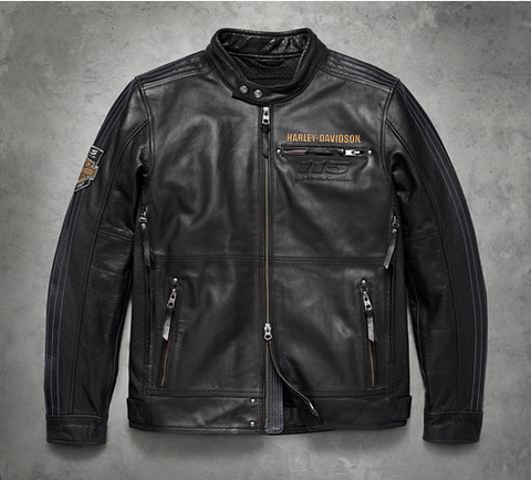 Men's 115th Anniversary Leather Jacket