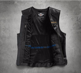 Men's 115th Anniversary Leather Vest