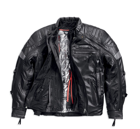 Harley-Davidson® Men's FXRG® Switchback Leather Jacket