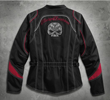 Women's Scroll Skull Riding Jacket