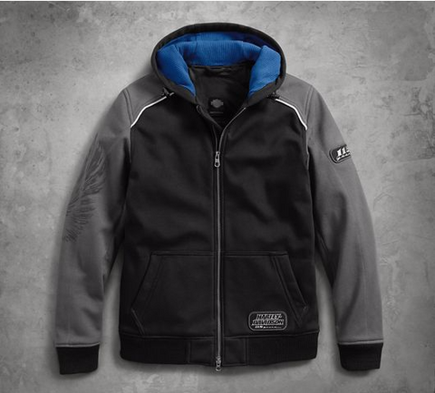 Men's 115th Anniversary Windproof Slim Fit Riding Hoodie