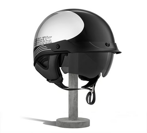 Big Twin Ultra-Light Sun Shield J03 Half Helmet