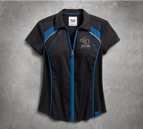 Women's 115th Anniversary Zip-Front Shirt