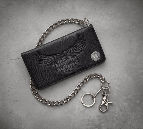 New Arrival Men's 115th Anniversary Biker Wallet