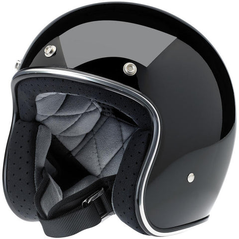 Casco Biltwell- Bonanza Gloss Black