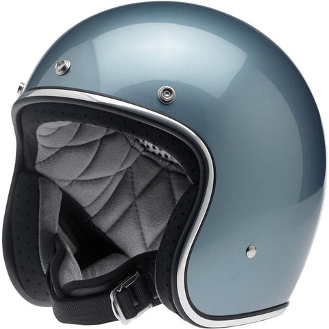 BONANZA HELMET - GLOSS BLUE STEEL