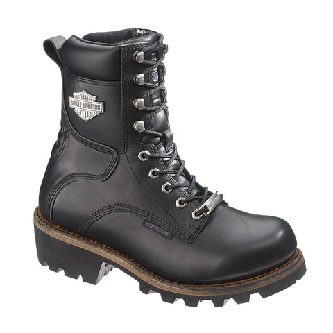 Harley-Davidson® Women's Tyson Black Motorcycle Riding Boots