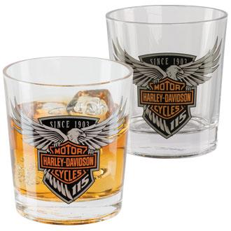 H-D® 115th Anniversary Double Old Fashioned Set