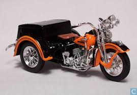 1947 Harley Davidson Servi Car 118 Scale Diecast Model