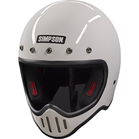M50 MOTORCYCLE HELMET WHITE