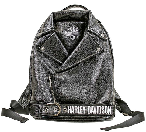 Harley-Davidson® Girls' Polyurethane Biker Backpack