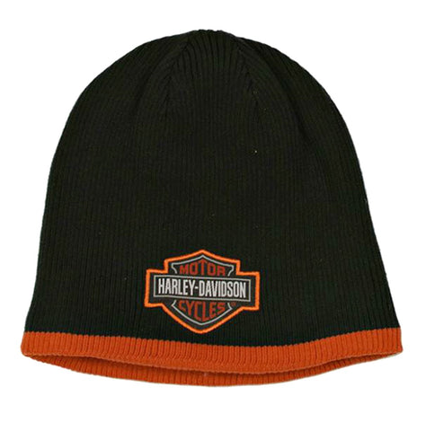 Harley-Davidson® Boys' Knit Beanie | Bar & Shield® Patch