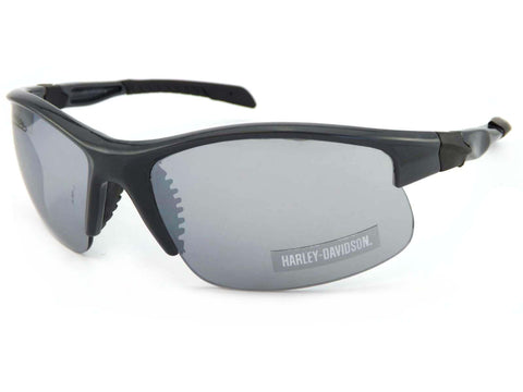 Grey Frame Grey Flash Lens Sunglasses