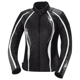 IXS Kiara Women's Jacket, Black/White