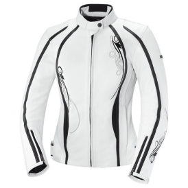IXS Kiara Women's Jacket, White/Black