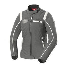 IXS Ridley Dark Jacket, Grey/Ivory WOMAN