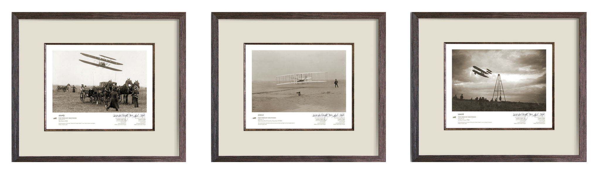 The Wright Brothers Exclusively Authorized Historic Photo Prints