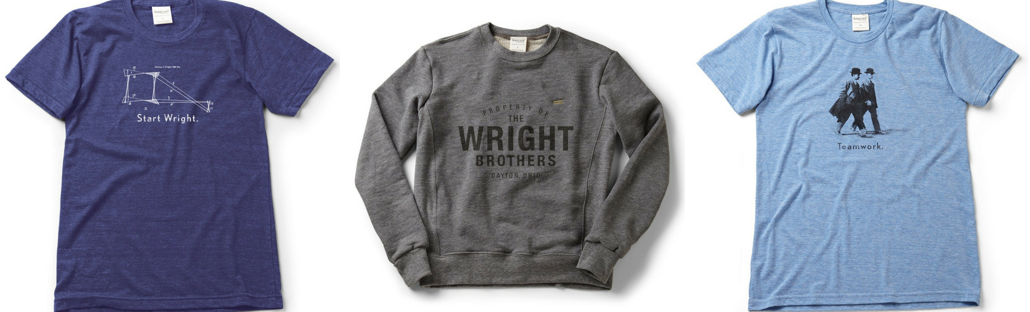 The Wright Brothers USA Shirts and Sweaters